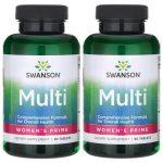Swanson Premium Multi Women's Prime 180 Tabs Multivitamins