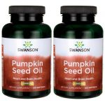 Swanson Premium Pumpkin Seed Oil 1,000 mg 200 Soft Gels Essential Fatty Acids