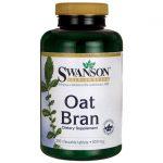 Swanson Premium Oat Bran 850 mg 250 Chewables Digestive Health and Fiber