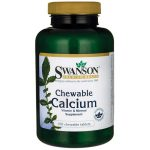 Swanson Premium Chewable Calcium 500 mg 100 Chewables Health Minerals
