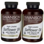 Swanson Best Weight-Control Formulas High Linoleic Safflower Oil with Vitamin B6 224 Soft Gels Weight Loss