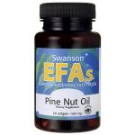 Swanson EFAs Pine Nut Oil 500 mg 60 Soft Gels Essential Fatty Acids