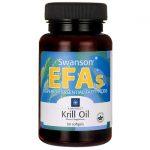 Swanson EFAs Rimfrost Krill Oil 60 Soft Gels Essential Fatty Acids