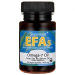 Swanson EFAs Omega-7 Oil From Sea Buckthorn 450 mg 30 Liquid Caps Essential Fatty Acids