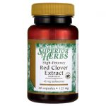 Swanson Superior Herbs High-Potency Red Clover Extract 125 mg 60 Caps Liver Health