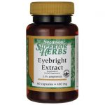Swanson Superior Herbs Eyebright Extract 400 mg 60 Caps Vision Health