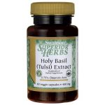 Swanson Superior Herbs Holy Basil (Tulsi) Extract 400 mg 60 Veg Caps Herbs and Supplements