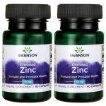 Swanson Ultra Chelated Zinc 30 mg 180 Caps Immune Support