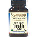 Swanson Ultra Bromelain 1,200 Gdu 500 mg 60 Veg DRcaps™ Enzymes
