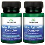 Swanson Ultra Saw Palmetto Complex 120 Soft Gels Herbs and Supplements