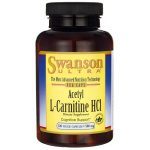 Swanson Ultra Acetyl L-Carnitine Hcl 500 mg 120 Veg Caps Anti-Aging