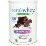 Tera's Whey rbgh Free Protein – Fair Trade Dark Chocolate 24 oz Powder