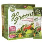 To Go Brands Greens Powder Drink Mix – Green Apple Flavor 24 Packets