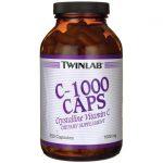 Twinlab C-1000 Caps 1,000 mg 250 Caps Vitamin C Immune Support