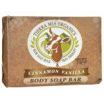 Tierra Mia Organics Body Soap Bar – Cinnamon Vanilla 3.8 oz Bars