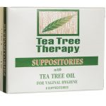 Tea Tree Therapy Vaginal Suppositories with Oil 6 ct Women's Health