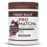 Vibrant Health Pro Matcha Protein + Tea – Chocolate Crèm 20.6 oz Powder