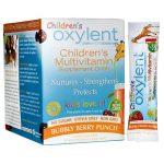 Vitalah Oxylent Children's Multivitamin Drink Bubbly Berry Punch 30 Packets Children's Multivitamins