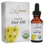 Wally's Natural Products Organic Ear Oil 1 fl oz Liquid Hearing and Ear Health