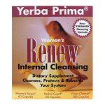 Yerba Prima Women's Renew Internal Cleansing 1 Kit Digestive Health and Fiber