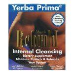 Yerba Prima Men's Rebuild Internal Cleansing 1 Kit Digestive Health and Fiber