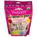 YumEarth Organic Vitamin C Pops 8.5 oz Package Immune Support