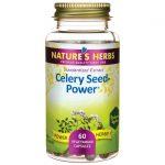 Nature's Herbs Celery Seed-Power 60 Veg Caps