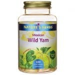 Nature's Herbs Mexican Wild Yam 100 Veg Caps Herbs and Supplements