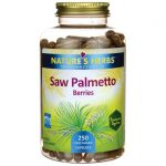 Nature's Herbs Saw Palmetto Berries 250 Veg Caps Herbs and Supplements