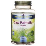 Nature's Herbs Saw Palmetto Berries 600 mg 100 Caps Herbs and Supplements