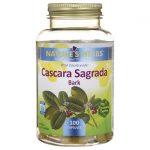 Nature's Herbs Cascara Sagrada Bark 900 mg 100 Caps Colon Care