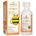 Zarbee's Children's Cough Syrup – Cherry 4 fl oz Liquid Immune Support