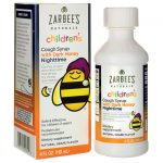 Zarbee's Children's Nighttime Cough Syrup with Dark Honey – Grape 4 fl oz Liquid Immune Support